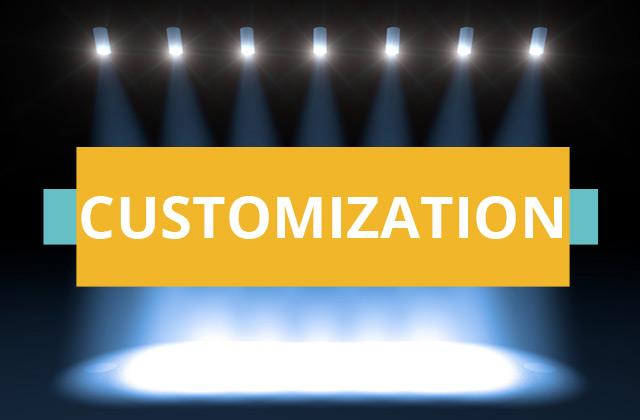 photobooth video customization