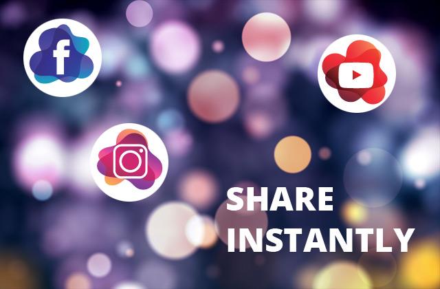 photobooth video sharing